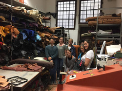 Private Tour at Leather Shop