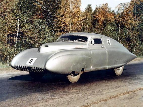 GAZ-M20 Pobeda Sport Soviet car prototype, 1951