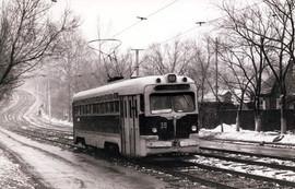 MTV-82 tram in Khabarovsk, USSR, 1980