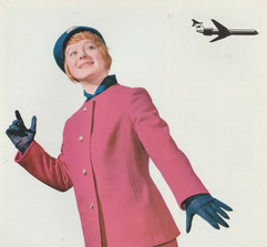 Soviet flight attendant uniform, 1970s
