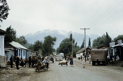 Outskirts of Almaty. Photo by Harrison Forman, Kazakh SSR, 1959