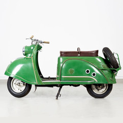 Soviet scooter based on western model, 1960s