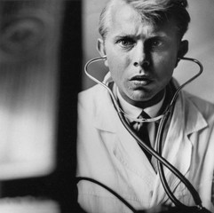 Young doctor. Photo by Antanas Sutkus, USSR, 1970