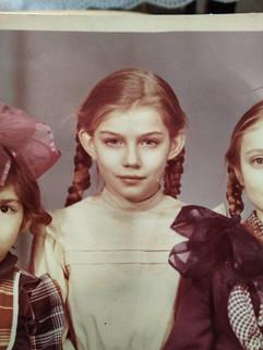 Soviet girl, 1980s