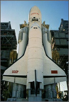 """In 1988, the Soviet Union launched its first full-scale reusable space shuttle, Buran (""""Blizzard""""). Although Buran was flown in the atmosphere with trained pilots, its first (and only!) orbital flight was made without a crew"""
