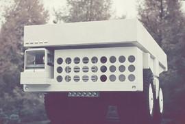 BelAZ-540 heavy-duty dump truck  prototype designed by Valentin Kobylinsky, USSR, 1965