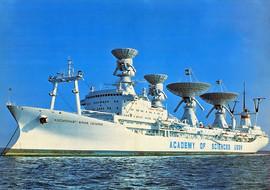 """Cosmonaut Yuri Gagarin"" Soviet space control-monitoring ship, 1980"