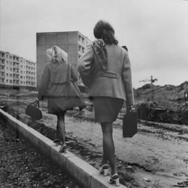 """Lazdynai. Pavement.Vilnius"" Photo by Antanas Sutkus, Lithuanian SSR, 1976"
