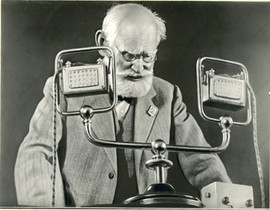 Famous physiologist Ivan Pavlov, USSR, 1935