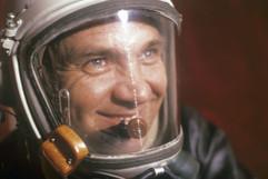 Georgy Mosolov, famous Soviet test pilot, Hero of the Soviet Union. Photo by Lev Polikashin, 1967