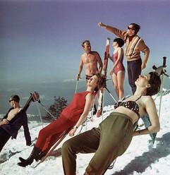 At the ski resort. Photo by Yuri Somov, 1982
