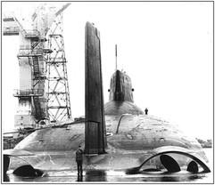 Typhoon class Project 941 Akula  Soviet nuclear-powered ballistic missile submarine, 1980s