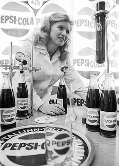 Pepsi-Cola soft drink produced by Tallinn Lemonade Factory. Photo by Endel Tarkpea, Estonian SSR, 1983