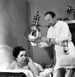 """""""A patient is examined by doctor"""", USSR, 1963"""
