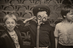 """Boys"" photo by Vladimir Bogdanov, USSR, 1989"