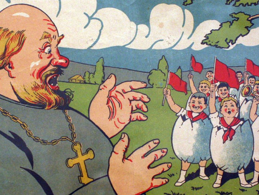 10 Fascinating Soviet Anti-Religion Campaign Posters