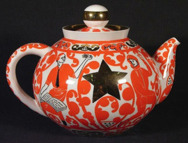 Porcelain teapot, USSR, 1970s-1980s