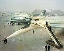 Sheremetyevo international airport, Moscow, USSR, 1974
