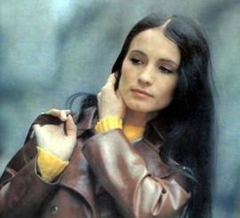 Soviet pop singer Sofia Rotaru, 1973