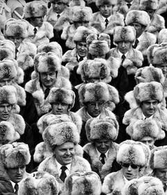 """Soviet Union Olympic Team in Innsbruck, 1976 AP PHOTO / LOHMAN"""