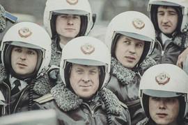 KGB motorcycle unit, USSR, 1980s