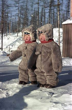 Photo by Alexey Gostev, Yakut ASSR, 1960s