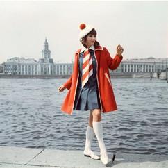Leningrad Fashion house show. Photo by P. Fedotov, USSR, 1968