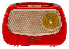 """Turist"" Soviet radio receiver, 1959"