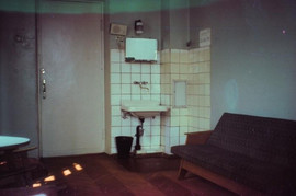 """""""Altai"""" hotel room, Moscow, USSR, 1977"""