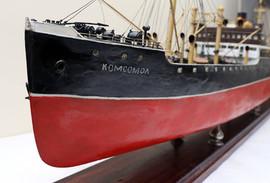 """""""Komsomol"""" Soviet ship model, 1937"""