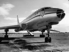 Tupolev Tu-104, first Soviet jet passenger aircraft, 1960s