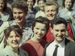 Soviet students. Photo by Miroslav Murazov, 1960s