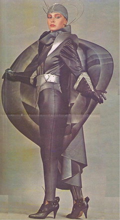 Space-inspired fashion, 1987 USSR