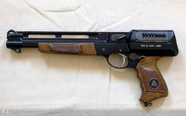 TOZ-81 Mars prototype Soviet revolver developed for Soviet cosmonauts as a survival weapon