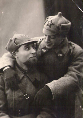Red Army officers, USSR, 1925