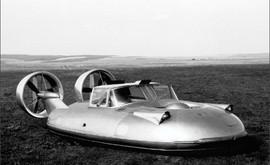 Gaz-16 Soviet experimental hover car, 1962