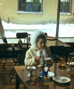 """""""Malysh"""" cafe, Tula, USSR, 1979"""
