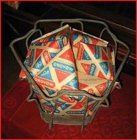 Soviet Tetra Pack milk, 1970s