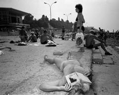Sochi, favourite USSR Black sea holiday destination, Summer 1988