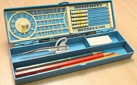 Soviet pencil case
