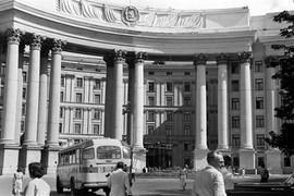 Kalinin square, Kiev, Ukrainian SSR, 1959