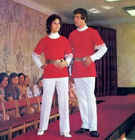 Tyumen House of Models fashion show, USSR, 1974