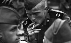 Soldier. Kaliningrad region, USSR, 1980s