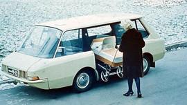 VNIIT-PT Soviet concept taxi van, 1964