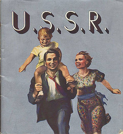 USSR tourism advertising poster, 1936
