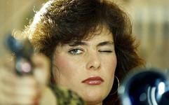 Miss KGB contest winner Yekaterina Mayorova, USSR, 1990