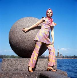 Leningrad fashion model, 1970s