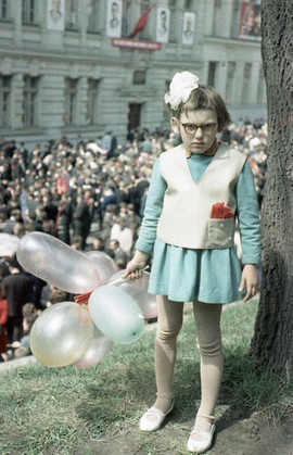 May Day celebration, Lvov, Ukrainian SSR, 1968