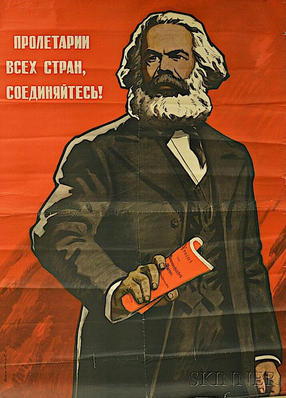 """""""Workers of the World, Unite!"""" Soviet poster, 1968"""