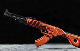 TKB-022 Soviet automatic assault rifle concept by German A. Korobov, 1960s